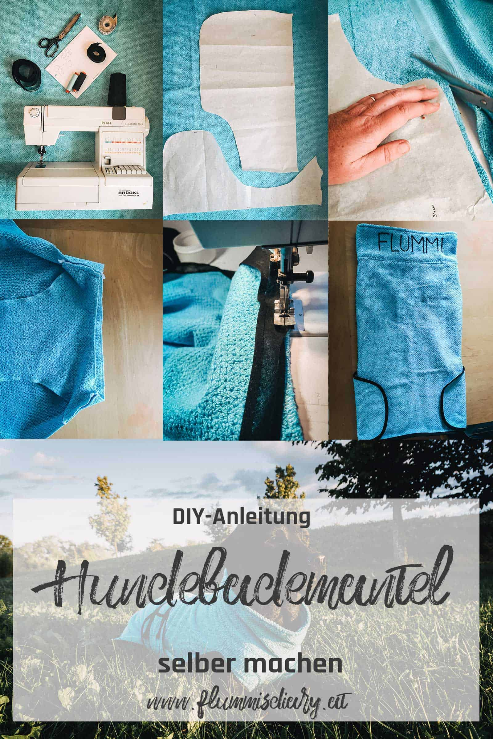 hundebademantel-diy